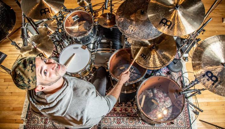 Matt Halpern + Pearl Drums